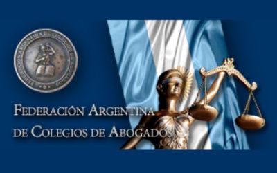 FACA SOLICITA LEGISLACION DE EMERGENCIA: PRESCRIPCION Y CADUCIDAD.-