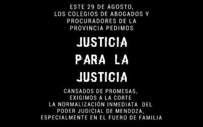JUSTICIA PARA LA JUSTICIA